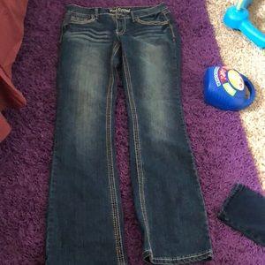 Denim - Red Camel Boot Cut Jeans